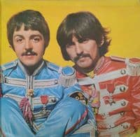 THE BEATLES Sgt. Pepper's Lonely Hearts Club Band Vinyl Record LP Parlophone 1967.